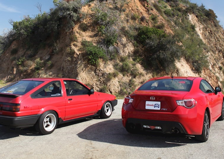 AE86 vs FR-S: Toyota's Legacy Continues