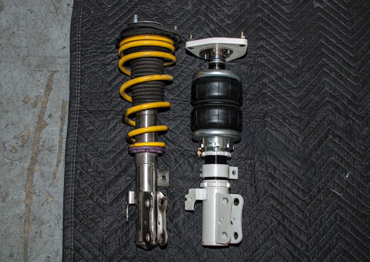 two wide drivingline suspension coilover air jp feature