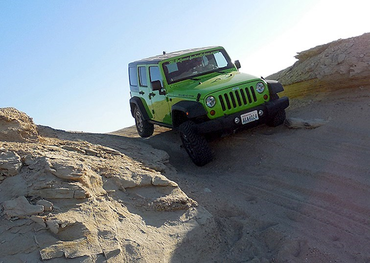Getting in the Groove at the 4x4 Proving Grounds