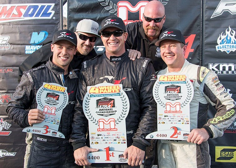 Surprise Finish & Podium Sweep at Ultra4 Nationals