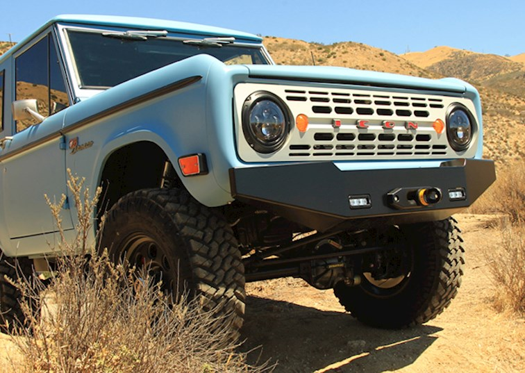 Off-Road Perfection with the ICON Bronco
