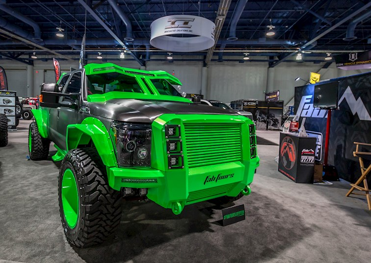 20 Of The Hottest Ford Trucks From The 2015 SEMA Show