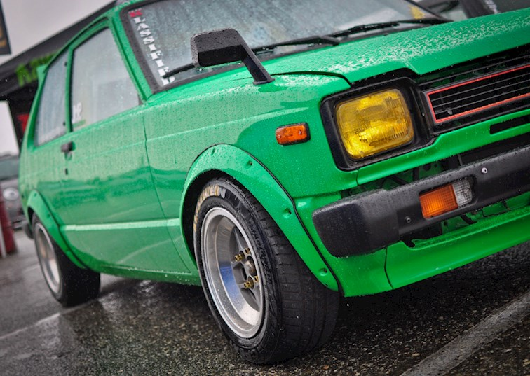Family First with this 1981 Toyota Starlet
