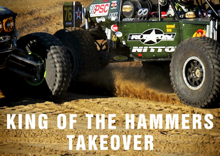two wide king of hammers coverage takeover feature