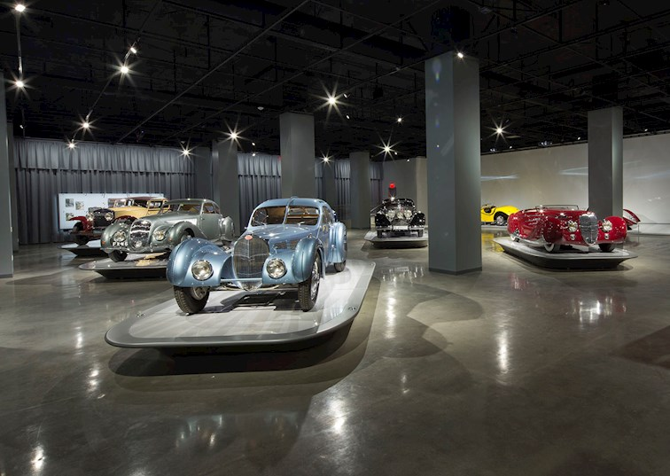 two wide petersen automotive museum 50 feature