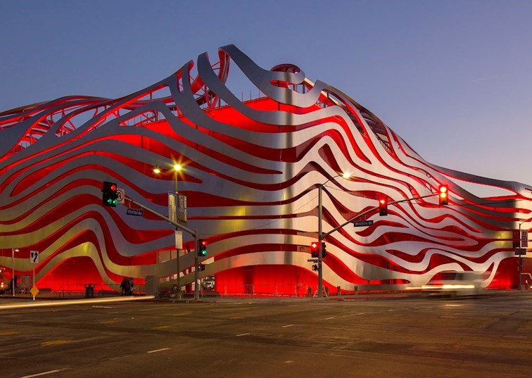 A Closer Look at the New Design of the Petersen Museum