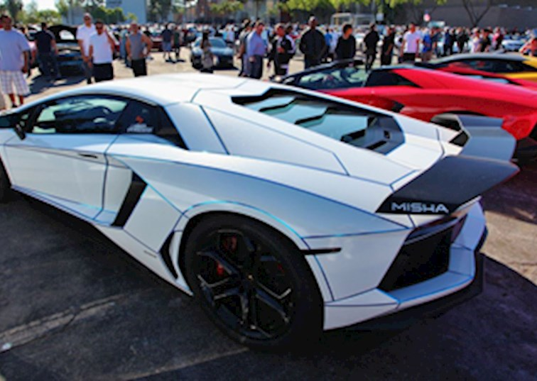 Lamborghini Takes Over Supercar Sunday
