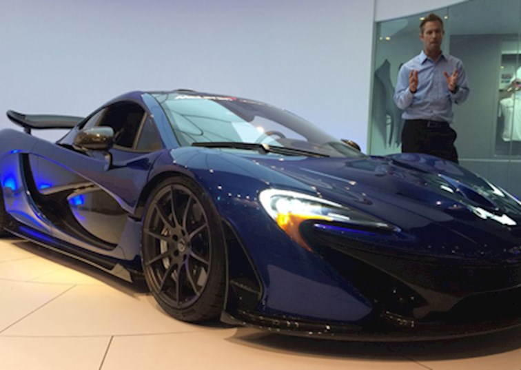 two wide mclaren p1 interesting details feature