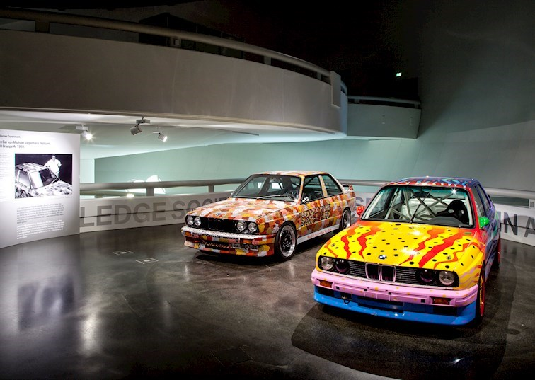 The BMW Art Car Gallery: Second Floor