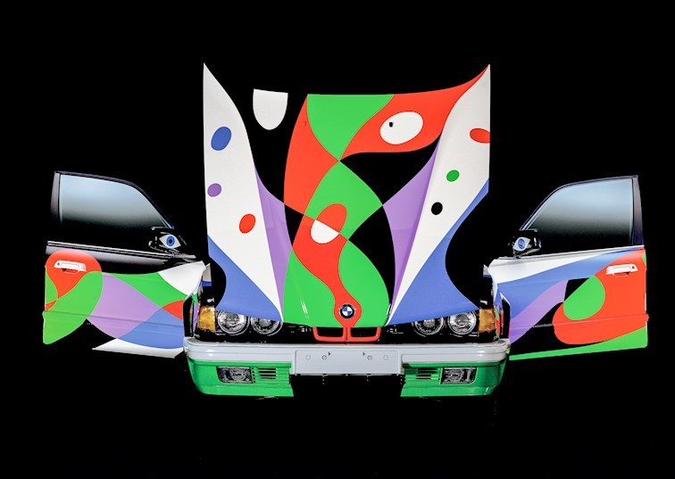 The BMW Art Car Gallery: Third Floor