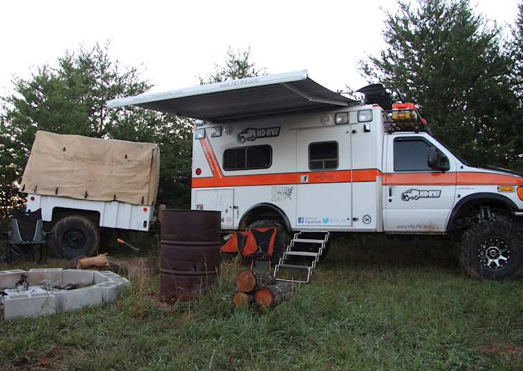two wide overland ford e 350 ujoint offroad van ambulance