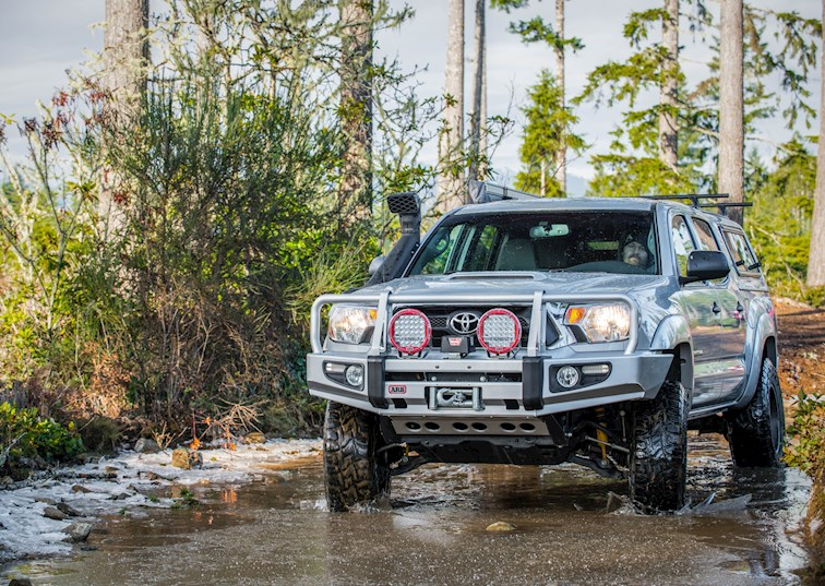 Breathe Easy! All-New Toyota Tacoma Safari Snorkel