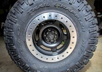 two wide 37 nitto trail grappler atx slab beadlock wheel
