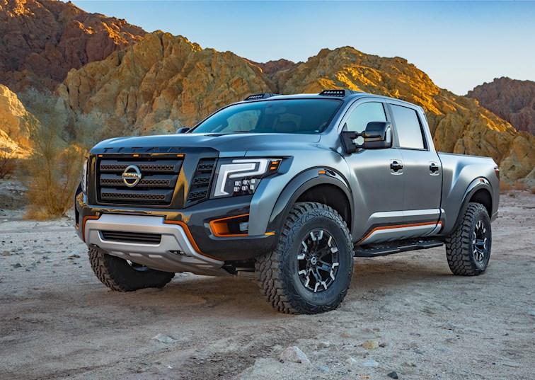 Killer Instinct: Nissan Debuts The Titan Warrior Concept