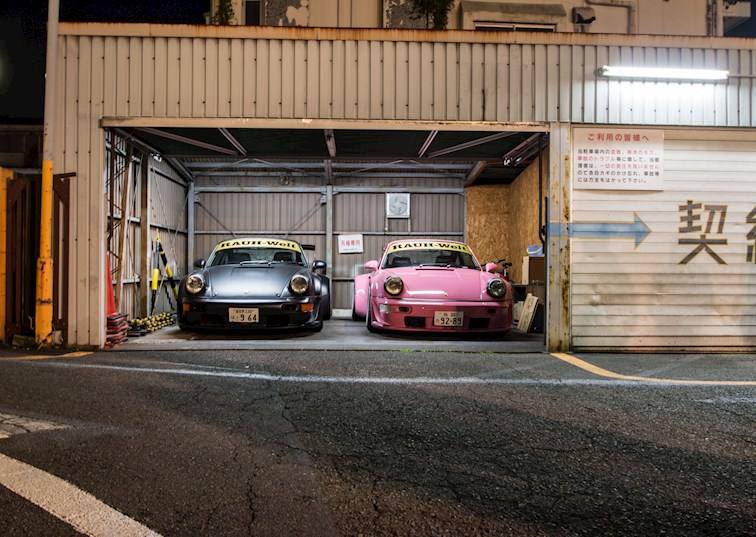 two wide drivingline rwbmeet hardrock roppongi japan jp feature