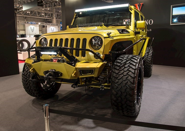 The Unexpected Jeep Wrangler Unlimited of Tokyo Auto Salon 2016