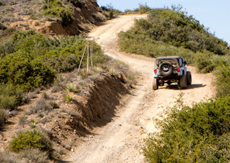 Off Road in the Santa Ana Mountains