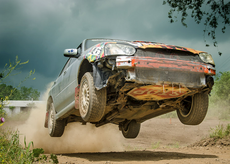 "Indiana Rallycross at Badlands 2014 : ""It's an ATV… It's a Dirt Bike… Is that a Subaru?"""