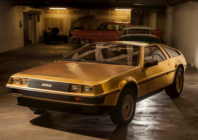 Cars From the Vault: 24K Gold 1981 DeLorean
