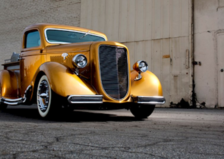 two wide gene winfield custom shop truck remake 1935 ford feature