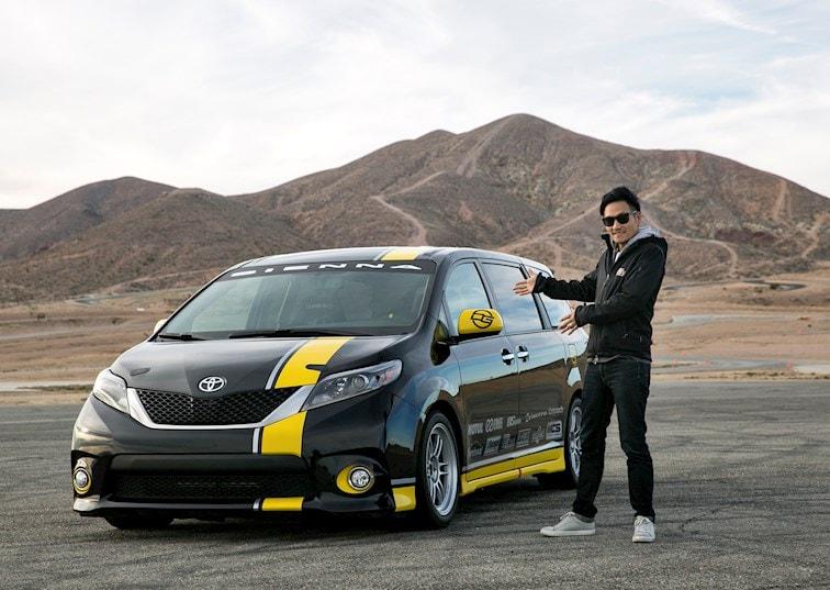 Dai Yoshihara Test Drives the Toyota Sienna R-Tuned Concept