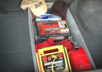 two wide essential car trunk kit feature