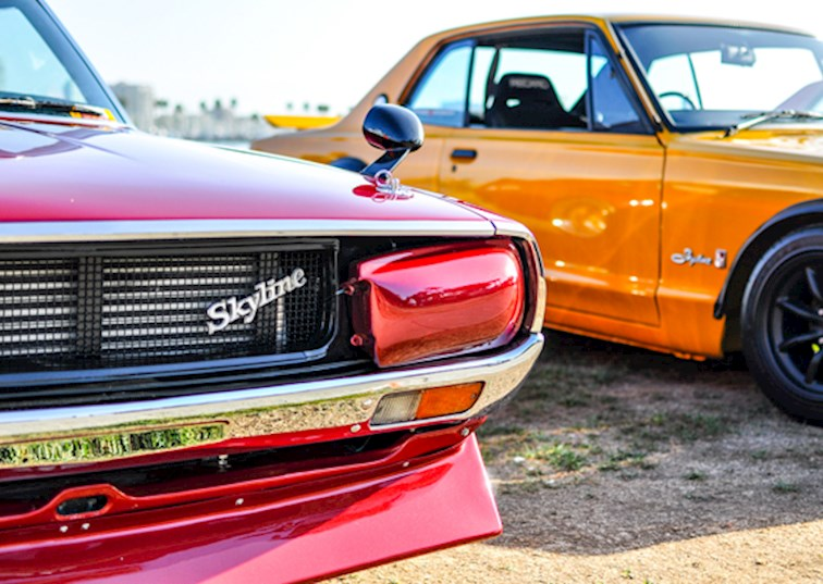 two wide japanese classic car show 2014 feature gallery