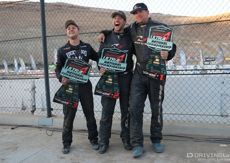Results at the Ultra4 2014 National Championship