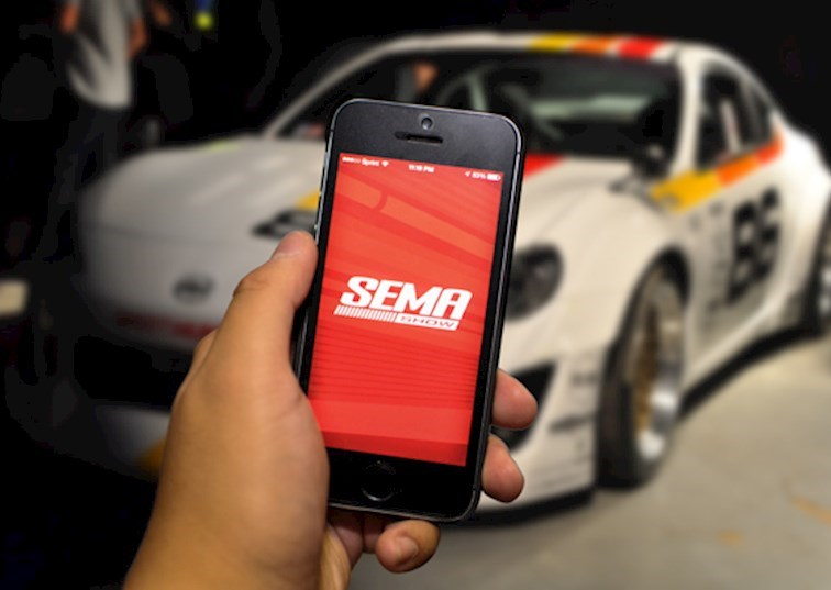 SEMA Show, There's an APP For That!