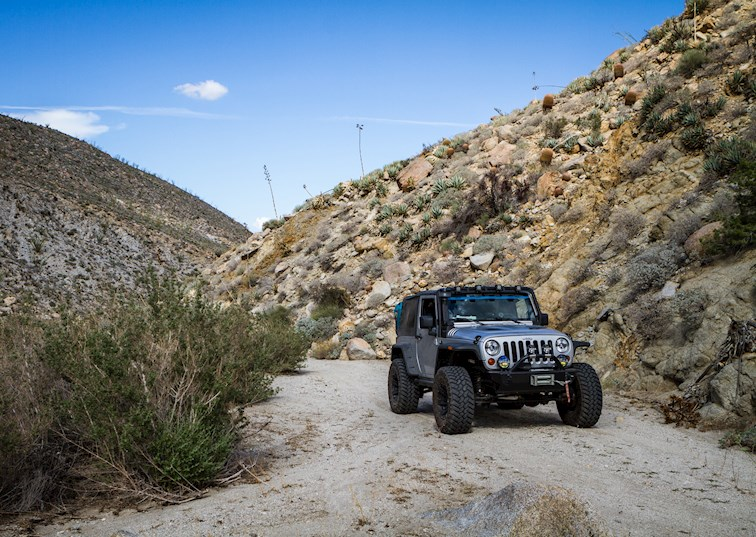 Exploring The Mine Wash Trail