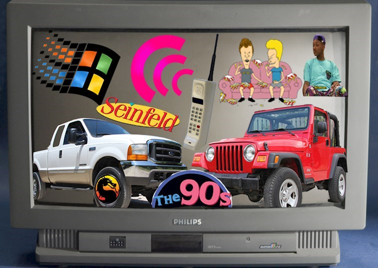 5 Iconic 4x4s That Shaped the '90s