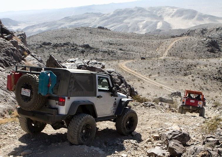 Fissure Mountain: The Original Hammer Trail