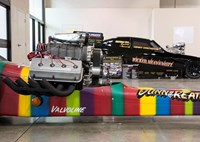 two wide 2016 gnrs rainbow car
