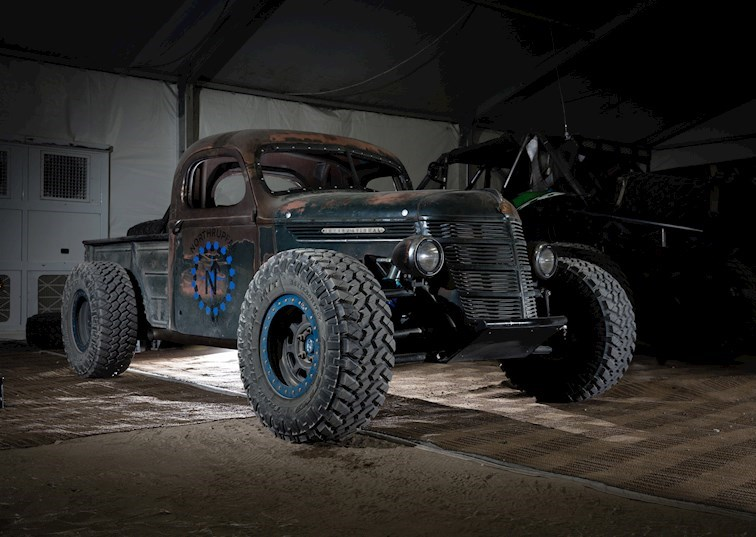 Trophy Rat: A Hot Rod Pickup With Real Off-Road Chops