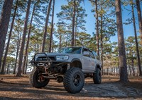 two wide 1998 toyota 4runner solid axle trail grappler