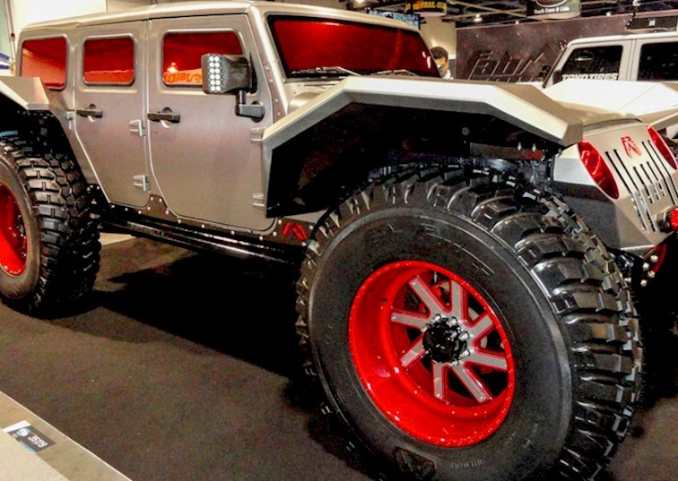 Our Favorite JKs From The SEMA Show