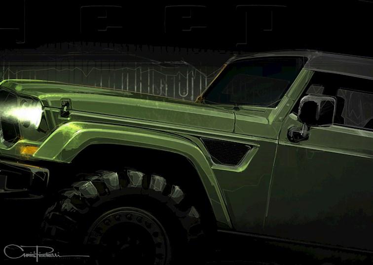 Easter Jeep Safari Concept Vehicle Sneak Peek
