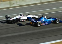 two wide scca runoffs feature