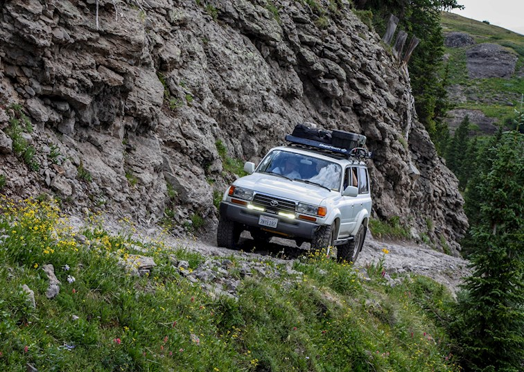 two wide toyota land cruiser fj80 governor basin climb 2