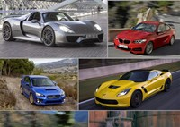 two wide best new performance cars feature
