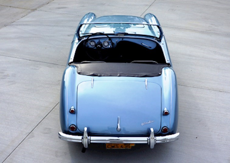 Purity of Form & Function: 1956 Austin-Healey 100
