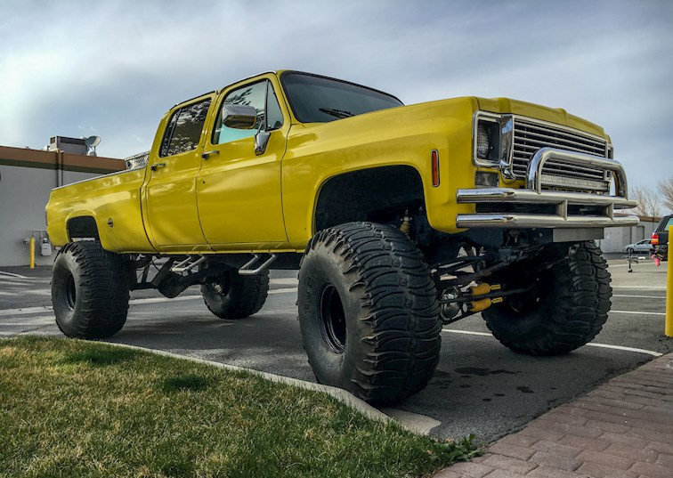 two wide 001 80s truck