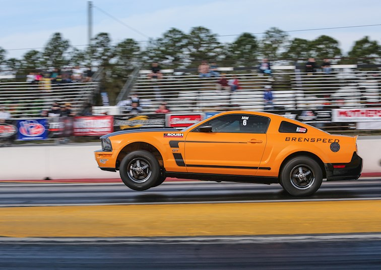 two wide nmra spring break shootout ford mustang