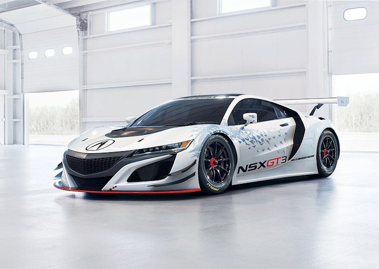 Acura Brings the Heat with This NSX GT3