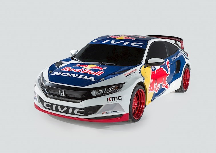 Honda to Enter Global Rallycross with a Turbocharged 2016 Civic