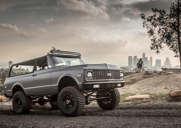 Chevy K5 Blazer Custom Fit for Everyone from Rockstars to Rock Crawlers
