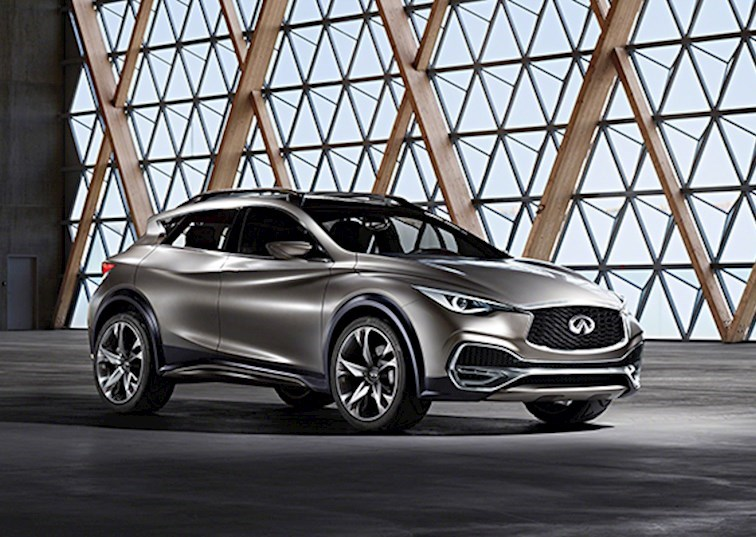 Infiniti QX30 Concept North American Debut at NYIAS