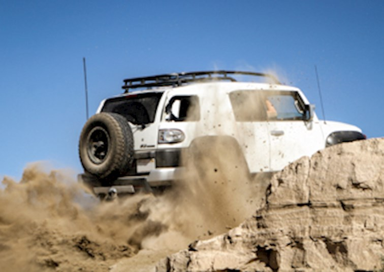 Going Off-Road in the Borrego Badlands