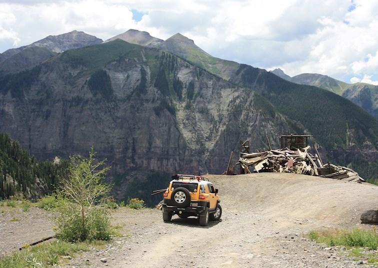 They Call Her Imogene. Traversing Colorado's Classic High-Mountain Pass