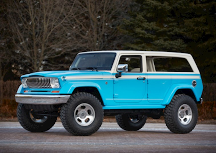 2017 Jeep Concept Vehicles >> Take My Money! The Jeep Crew Chief 715 [Video] | DrivingLine